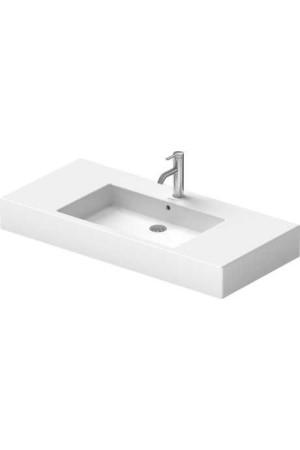 Duravit Vero Умывальник для мебели 1050 мм 032910, Белый, Керамика - на мебели, Керамика - подвесной, Фарфор