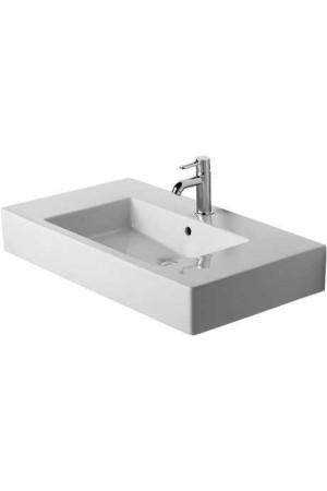 Duravit Vero Умывальник для мебели 850 мм 032985, Белый, Керамика - на мебели, Керамика - подвесной, Фарфор