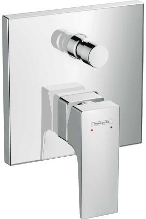 Смеситель для ванны, скрытый, хром, Hansgrohe Metropol 32545000, Хром, скрытый
