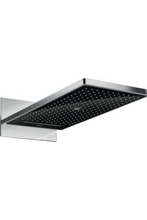Верхний душ 580 x 260 мм, 3 режима, черный/хром, Hansgrohe  Rainmaker 24001600, Хром/черный