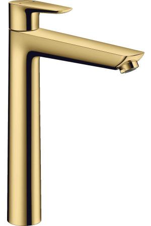 Смеситель для раковины, высокий, золото, Hansgrohe Talis E 71716990, Золото, стандартный