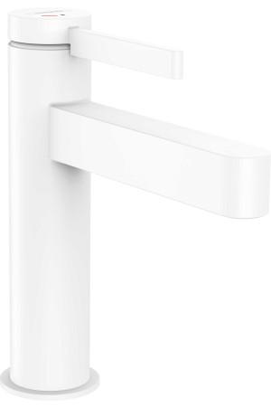 Смеситель для умывальника CoolStart 110, белый матовый, Hansgrohe Finoris 76024700, Белый матовый, стандартный