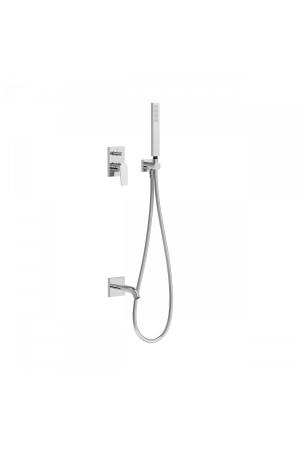 Система для ванны и душа с встроенным смесителем Tres Project 21118003, Хром, скрытый