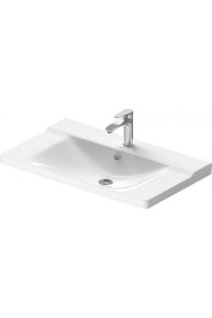 Duravit P3 Comforts умывальник для мебели 850 мм 233285, Белый, Керамика - на мебели, Керамика - подвесной, Керамика