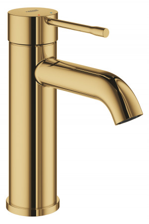 Смеситель для раковины S-Size Grohe Essence 23590GL1, Золото, Смесители - стандартный