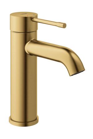 Смеситель для раковины S-Size Grohe Essence 23590GN1, Золото матовое, Смесители - стандартный