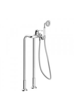 Напольный смеситель для ванны Tres Monoclasic 24219402, Хром, напольный
