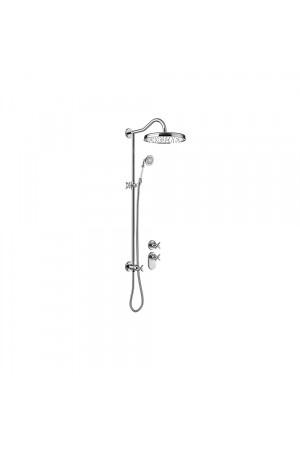 Встроенная термостатическая система для ванны Tres Monoclasic 24235203, Хром, скрытый