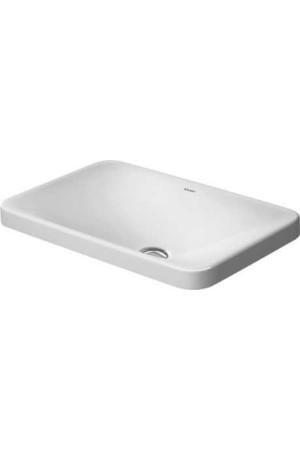 Duravit P3 Comforts Умывальник встраиваемый 550 мм 037755, Белый, Керамика - врезной, Керамика
