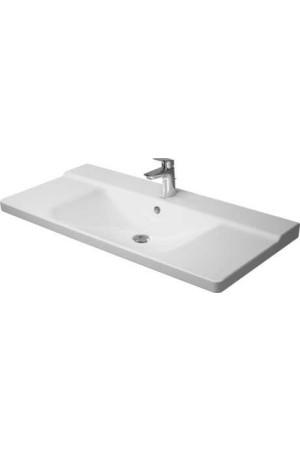 Duravit P3 Comforts умывальник для мебели 1050 мм 233210, Белый, Керамика - на мебели, Керамика - подвесной, Керамика