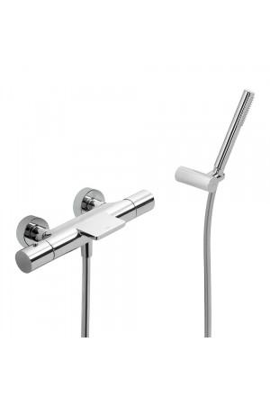 Термостатический смеситель для ванны и душа Tres Study 26117209, Хром, настенный