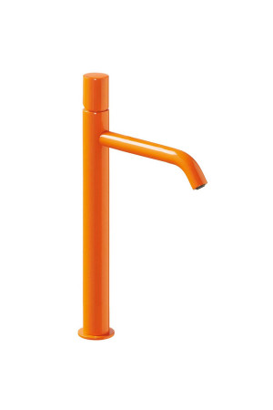 Высокий смеситель для умывальника Tres Study exclusive 26130801TNA, Оранжевый, стандартный