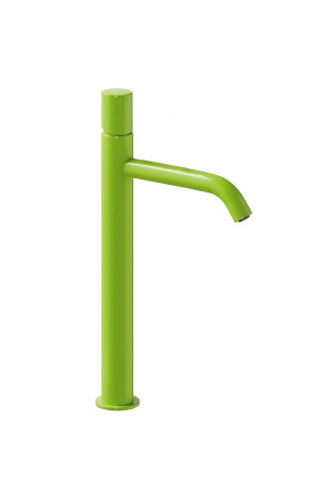 Высокий смеситель для умывальника Tres Study exclusive 26130801TVE, Зеленый, стандартный