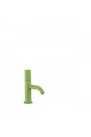 Однорычажный смеситель для умывальника Tres Study exclusive 26190301TVE, Зеленый, стандартный