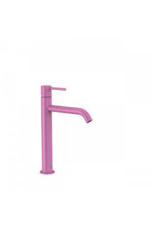Однорычажный смеситель для умывальника Tres Study exclusive 26230701TFU, Пурпурно-красный, стандартный