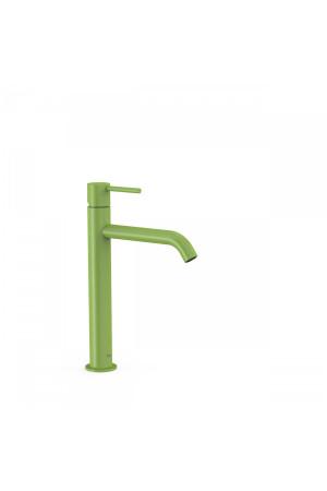 Однорычажный смеситель для умывальника Tres Study exclusive 26230701TVE, Зеленый, стандартный