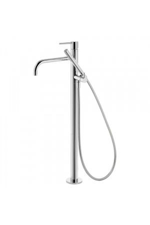Напольный однорычажный смеситель для ванны Tres Study exclusive 26247001, Хром, напольный