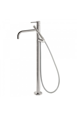 Напольный однорычажный смеситель для ванны Tres Study exclusive 26247001AC, Сталь, напольный