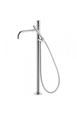 Напольный однорычажный смеситель для ванны Tres Study exclusive 26247002, Хром, напольный