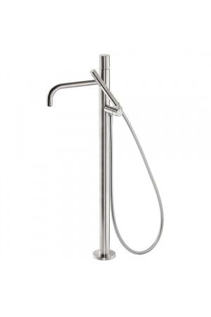 Напольный однорычажный смеситель для ванны Tres Study exclusive 26247002AC, Сталь, напольный