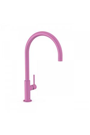 Высокий однорычажный смеситель для умывальника Tres Study exclusive 26290401TFU, Пурпурно-красный, стандартный