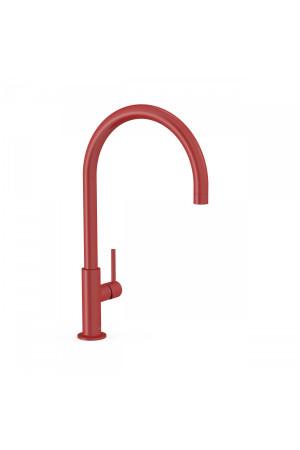 Высокий смеситель для умывальника Tres Study exclusive 26290401TRO, Красный, стандартный