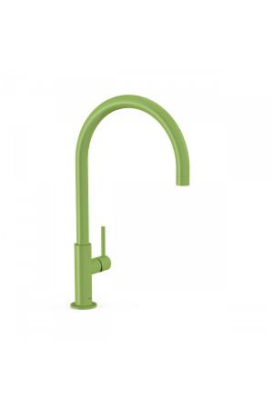 Высокий смеситель для умывальника Tres Study exclusive 26290401TVE, Зеленый, стандартный
