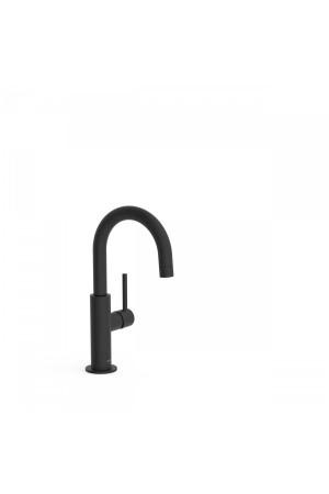 Черный смеситель для умывальника Tres Study exclusive 26290403NM, Черный матовый, стандартный