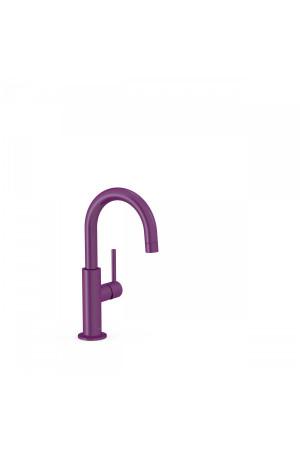 Однорычажный смеситель для умывальника Tres Study exclusive 26290403TVI, Фиолетовый, стандартный