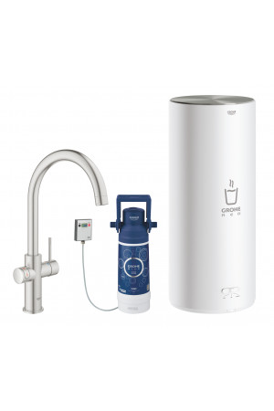 Смеситель и бойлер L-size Grohe Red Duo 30079DC1
