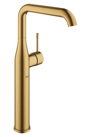 Смеситель для раковины XL-Size Grohe Essence 32901GN1, Золото матовое, Смесители - стандартный