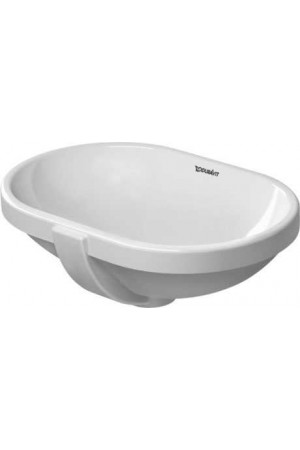 Duravit Bathroom_Foster Умывальник встраиваемый 430 мм 033643, Белый, Керамика - встраиваемый снизу, Фарфор