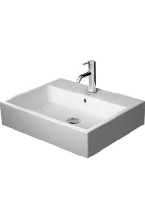 Duravit Vero Air Умывальник шлифованный 600 мм 235060, Белый, Керамика - на мебели, Керамика - накладной, Керамика - подвесной, Керамика