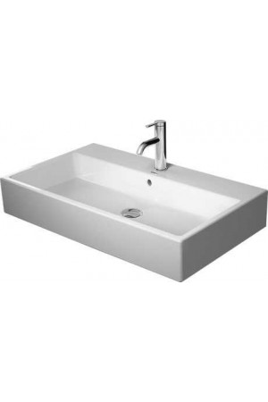 Duravit Vero Air Умывальник шлифованный 800 мм 235080, Белый, Керамика - на мебели, Керамика - накладной, Керамика - подвесной, Керамика