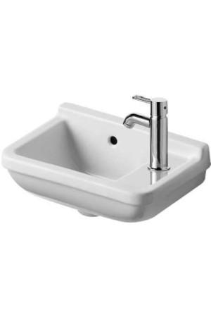 Умывальник для рук 400 мм Duravit Starck 3 075140, Белый, Керамика - подвесной, Фарфор