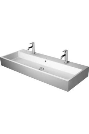 Duravit Vero Air Умывальник шлифованный 1200 мм 235012, Белый, Керамика - на мебели, Керамика - накладной, Керамика - подвесной, Керамика