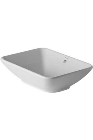 Duravit Bacino Раковина 550 мм 033452, Белый, Керамика - накладной, Фарфор