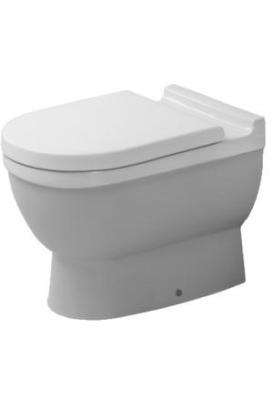 Duravit Starck 3 Унитаз напольный 360 x 560 мм 012409, Белый, Фарфор