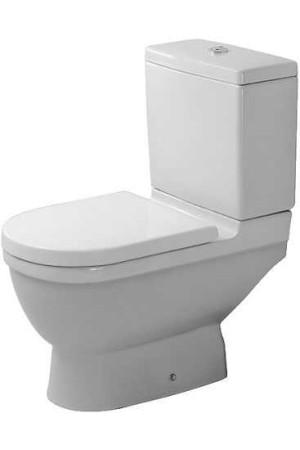 Duravit Starck 3 Унитаз комбинированный 360 x 655мм 012601, Белый, Фарфор