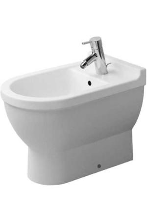 Duravit Starck 3 Биде напольное 360 x 560 мм 223010, Белый, Фарфор