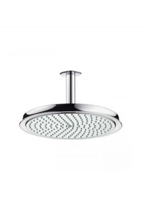 Потолочный душ 240мм с держателем, хром, Hansgrohe Raindance 27405000, Хром