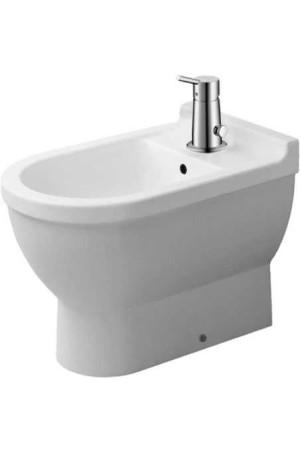 Duravit Starck 3 Биде напольное для нижнего душа 360 x 560 мм 224560, Белый, Керамика