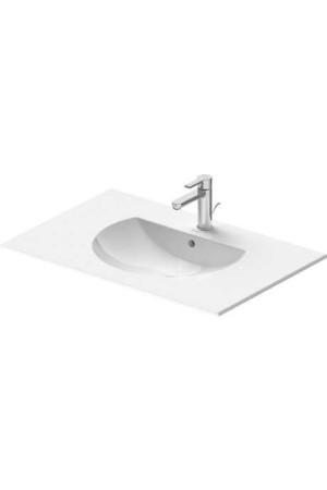 Duravit Darling New Умывальник для мебели 830 мм 049983, Белый, Керамика - на мебели, Керамика - подвесной, Фарфор