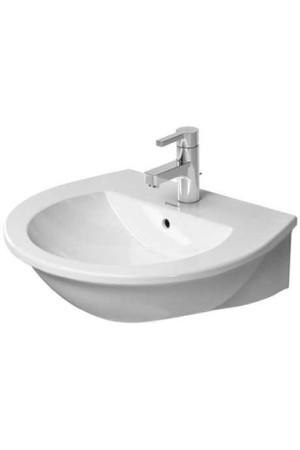 Duravit Darling New Умывальник 550 мм 262155, Белый, Керамика - подвесной, Фарфор