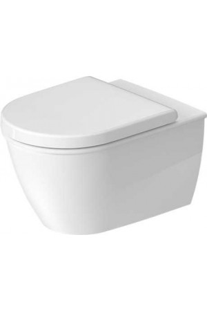 Duravit Darling New Унитаз подвесной Duravit Rimless® 370 x 540 мм 255709, Белый, Фарфор
