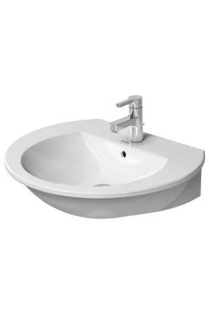 Duravit Darling New Умывальник 650 мм 262165, Белый, Керамика - подвесной, Фарфор