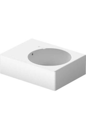 Duravit Scola Раковина 615мм 068560, Белый, Керамика - подвесной, Фарфор