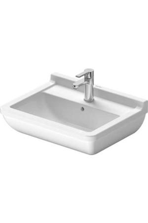 Duravit Starck 3 Умывальник 550 мм 030055, Белый, Керамика - подвесной, Фарфор
