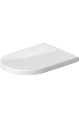 Сиденье для унитаза с микролифтом, Duravit Starck 2 0063390000, Белый