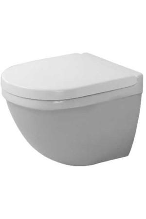Duravit Starck 3 Унитаз подвесной компакт 360 x 485мм 222709, Белый антибак., Керамика